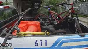Guarda patrimonial recupera bicicletas furtadas em Toledo Video: