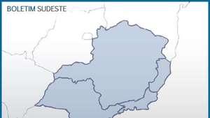 Previsão Sudeste - Risco de alagamento no centro-sul de MG Video: