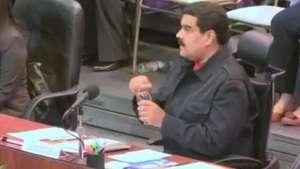 Maduro promete criar instituto para combate do câncer Video: