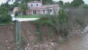 Fortes chuvas deixam mortos e desaparecidos na França Video: