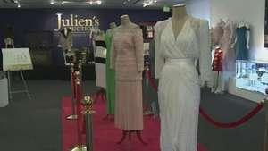 Vestidos de Lady Di vão a leilão nos Estados Unidos Video: