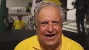 Santos: Modesto Roma fala pela primeira vez como presidente Video: