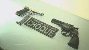 Choque prende homem com pistola e revólver no Interlagos Video: