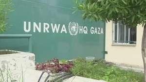 ONU diz estar quase sem fundos para abrigar palestinos Video: