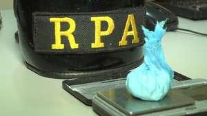 Jovens são detidos com bucha de cocaína no Santo Onofre Video: