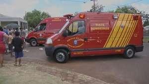 Duas pessoas ficam feridas em acidente no Santa Cruz Video: