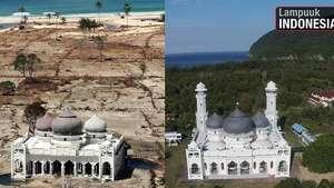 Imagens mostram recuperação de áreas 10 anos após tsunami Video: