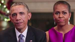 Obama destaca volta do Afeganistão em vídeo de Natal Video: