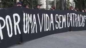 Protesto contra valor da passagem acaba em vandalismo em SP Video: