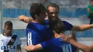 Copinha: veja os gols de Cruzeiro 2 x 1 Vasco Video: