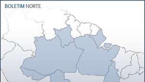 Previsão Norte - Risco de extravasamento no rio Juruá Video:
