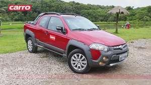 Teste do Leitor: Fiat Strada 1.8 Adventure Cabine Dupla Video: