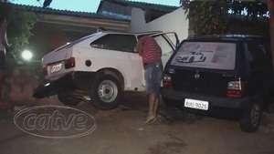 Acidente no Brasmadeira deixa vítima presa às ferragens Video: