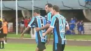 Lucas Coelho marca e Grêmio empata com Cascavel; veja lances Video: