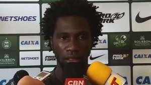 Eterna promessa, Negueba quer dar volta por cima no Coritiba Video: