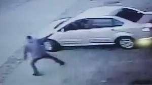 Vídeo mostra guarda sendo baleada na frente do filho em SP Video: