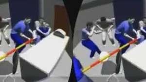 Programa recria cenas de crimes em 3D Video: