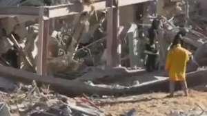 Explosão destrói parte de maternidade no México Video: