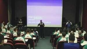 Árbitros se impressionam com estrutura de treinamentos na FAG Video: