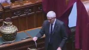 Jurista Sergio Mattarella é o novo presidente da Itália Video: