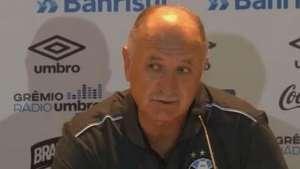 Grêmio: Felipão analisa comportamento do time na estreia Video: