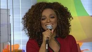 Paula Lima canta 'Meu Guarda-Chuva' ao vivo no Terra Video: