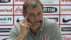 Aguirre esconde escalação do Inter: