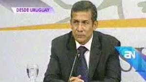 Humala en Uruguay: 'El indulto a Fujimori no está en agenda' Video: