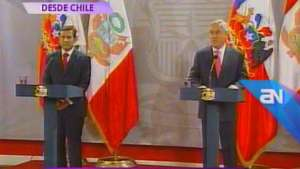 Humala: 'Me voy contento de Chile' Video: