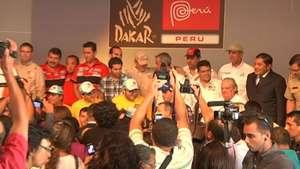 Presentan en Lima Dakar 2013 Video: