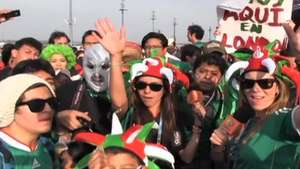 Deportadas: Mexican fans celebrate their Gold Olympic Medal Video: Terra USA