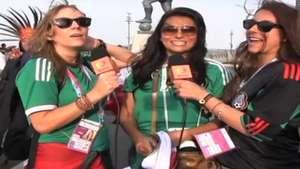 Deportadas: Familiares de jugadores mexicanos los felicitan por el triunfo Video: