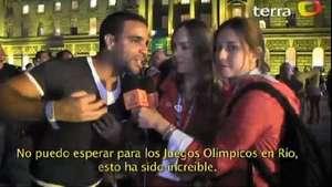 Deportadas se une a la fiesta tropical de bienvenida a Río Video: