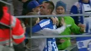 Esbjerg le roba el empate en el final al Copenhague Video: