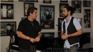 Vj Mauri entrevista a Alejandro Sanz de cara al Terra Live Music Video: