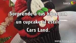 Sorprende a tus hijos con un Cupcake al estilo Cars Land Video: