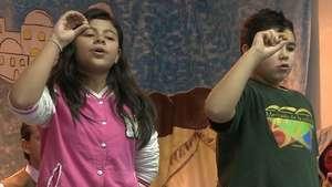 Último ensayo  de los niños de San Ildefonso Video: