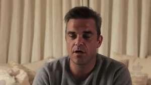 Robbie Williams canta a sus fans por sorpresa en internet Video: