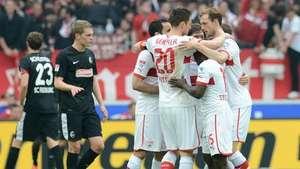 Stuttgart derrota al Friburgo y asegura la permanencia Video: