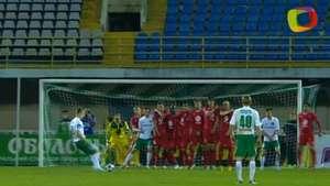 El Vorskla consigue un agónico empate ante el Tavriya Video: