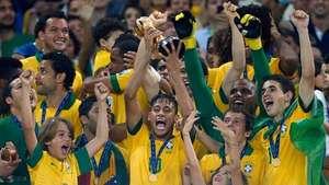 Brasil campeón al golear a España en la Copa Confederaciones Video: