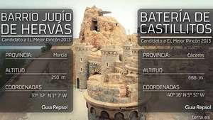 Semifinal: Hervás vs Castillitos ¿Cuál será el ganador del mejor rincón 2013? Video: