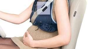 Chaleco emobikids para embarazadas al volante Video: