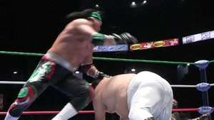 CMLL: Súper Porky vs Rey Escorpión, función del 18 oct 2013 Video: