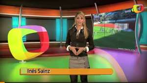 Inés Sainz y los nominados al Balón de Oro Video: