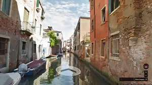 Google Street View navega por Venecia Video: