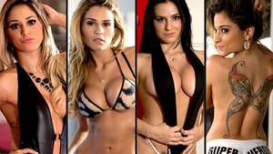 Eligen en Brasil dos 'ring girls' para el MMA Súper Héroes Video: