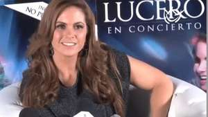 Lucero no esconde al novio Michel Kuri Video: