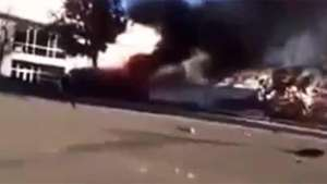 Divulgan supuestas imágenes posteriores al accidente con Walker Video: