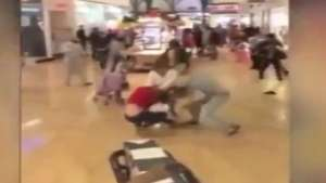 "Feroz pelea entre mujeres en mall por ""Black Friday"" Video:"